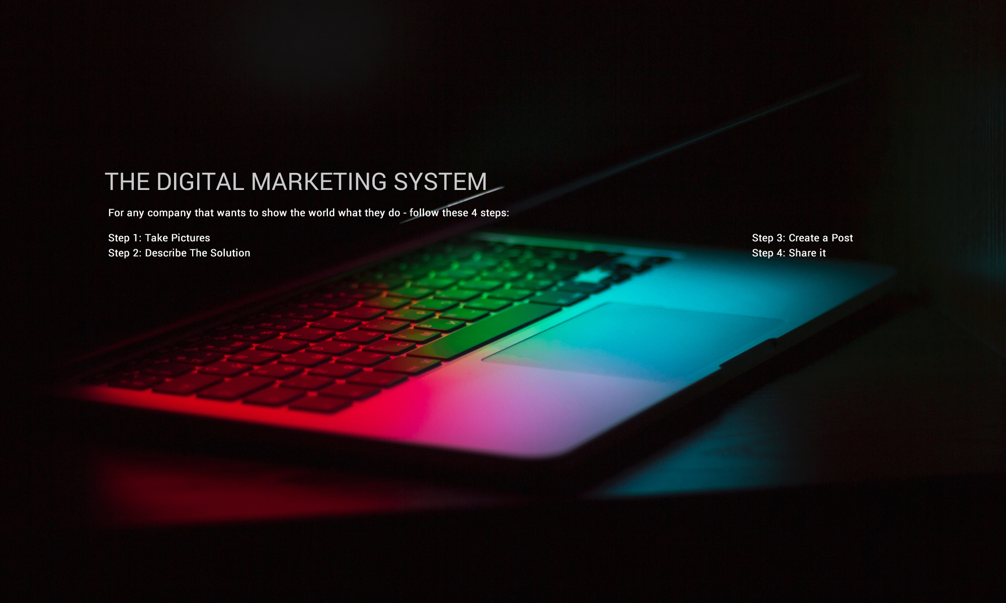 The Digital Marketing System